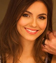 Victoria Justice on Walmart cropped.jpg