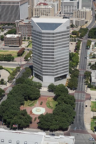 A. H. Belo - The Belo Building in Dallas, the headquarters of A. H. Belo Corporation