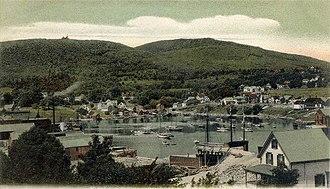 Camden, Maine - Image: View of Camden, ME