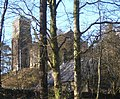 View of church through the trees - geograph.org.uk - 541857.jpg