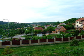 View on the old part of village of Mokrá 1.JPG