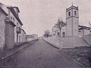 Vila do Porto (parish) - The Church of Nossa Senhora da Assunção, as seen in 1902