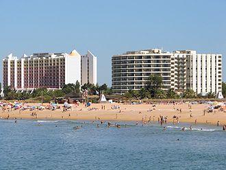 Vilamoura - Marina Beach in Vilamoura, Algarve, Portugal