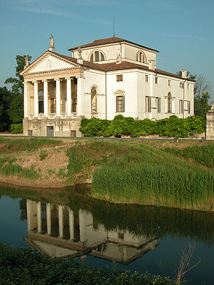 Vincenzo Scamozzi - Villa Molin at Mandria, south of Padua.