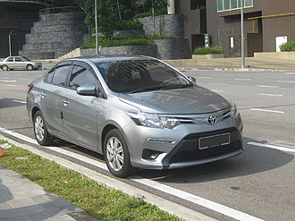 Toyota Vios - The third generation Toyota Vios 1.5 J in Malaysia