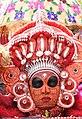 Vishnumoorthi theyyam at Muzhappilangad .jpg