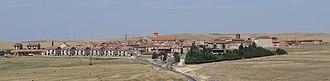 Zamarramala - Skyline of Zamarramala, Segovia, Spain