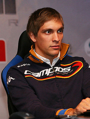 Vitaly Petrov at TrackMania Klaxon 400 tournam...