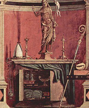 St. Augustine in His Study (Carpaccio) - Image: Vittore Carpaccio 029
