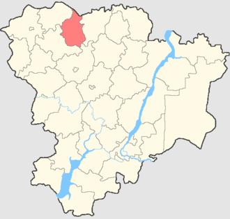 Kikvidzensky District - Image: Volgogradskaya oblast Kikvidzensky rayon