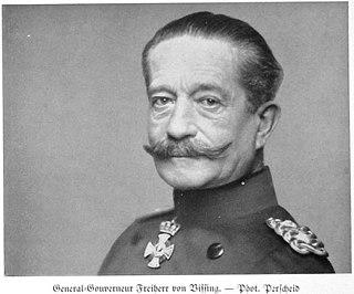 preußischer Offizier, zuletzt Generaloberst im Ersten Weltkrieg