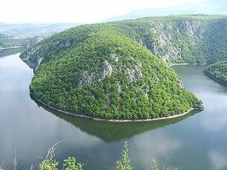 Vrbas (river) - Image: Vrbas reka