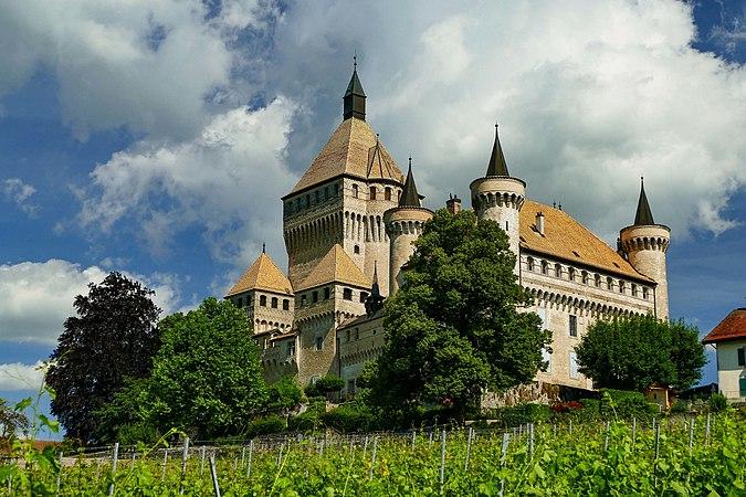 Vufflens-le-Château, château de Vufflens (3).jpg