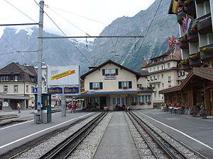 WAB&BOB Grindelwald Station