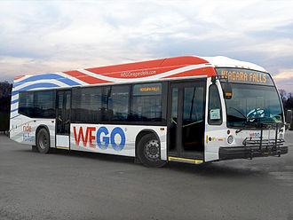 WEGO Niagara Falls Visitor Transportation - Image: WEGO Bus Photo