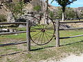 Wagon wheel gate - Birch Creek Historic Ranch Oregon.jpg