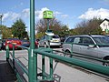 Waitrose car park - cathedral spire in the distance - geograph.org.uk - 1530779.jpg
