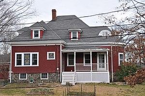 House at 2 Nichols Street - Image: Wakefield MA 2Nichols Street