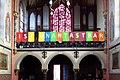 Waldhausen, Brandts Kapelle Spruch Empore.jpg