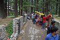 Walkway - Hidimba Devi Temple - Manali 2014-05-11 2637.JPG