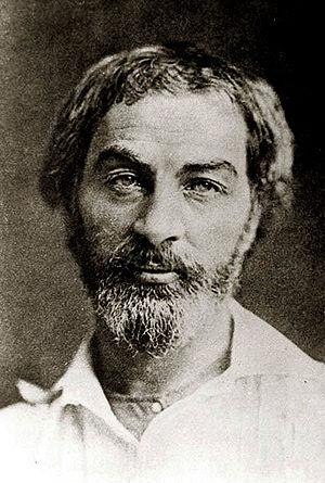 Walt Whitman. Daguerreotype