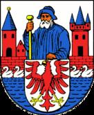Das Wappen von Rhinow