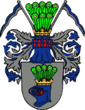 Coat of arms of Usedom (by)