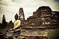 Wat Mahathat - Ayutthaya - Thailand (3936774234).jpg