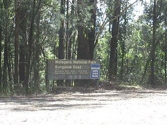 Watagans National Park - Image: Watagans park sign