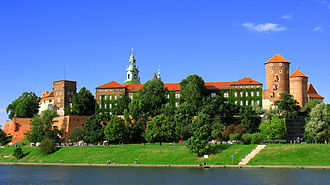 Wawel - Wawel from the Vistula river
