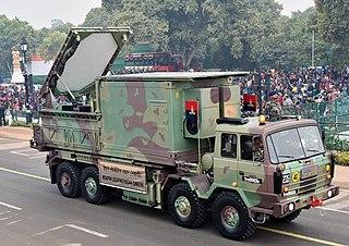 Swathi Weapon Locating Radar Counter-battery radar