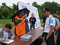 Weighing trophy Russian fishing Trout Trophy IV SPb.jpg