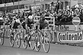 Wereldkampioenschappen Wielrennen op Nurburgring 1966, nummer 5 Dolman in aktie , Bestanddeelnr 919-4997.jpg