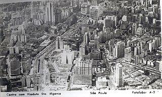 Centro com Viaduto Sta. Ifigênia - São Paulo