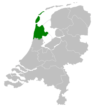 West Frisian Dutch - West-Frisian dialect in the Netherlands