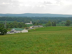 View toward York County
