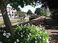 Westgate Garden Flower Bed, towards Westgate Towers - geograph.org.uk - 1408677.jpg