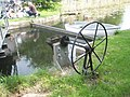 Wheel near canal end at Chichester Marina - geograph.org.uk - 794494.jpg