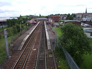 Whifflet railway station - Whifflet railway station