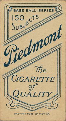 Tobacco usage in sport - Wikipedia