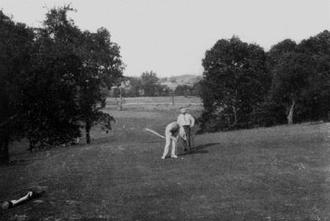 George C. Thomas Jr. - 16th hole, Whitemarsh Valley Country Club, Erdenheim, Pennsylvania, 1913.