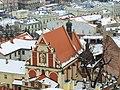 Widok z tarasu wieży Zegarowej w Przemyślu 03 - kościół św. Antoniego.jpg