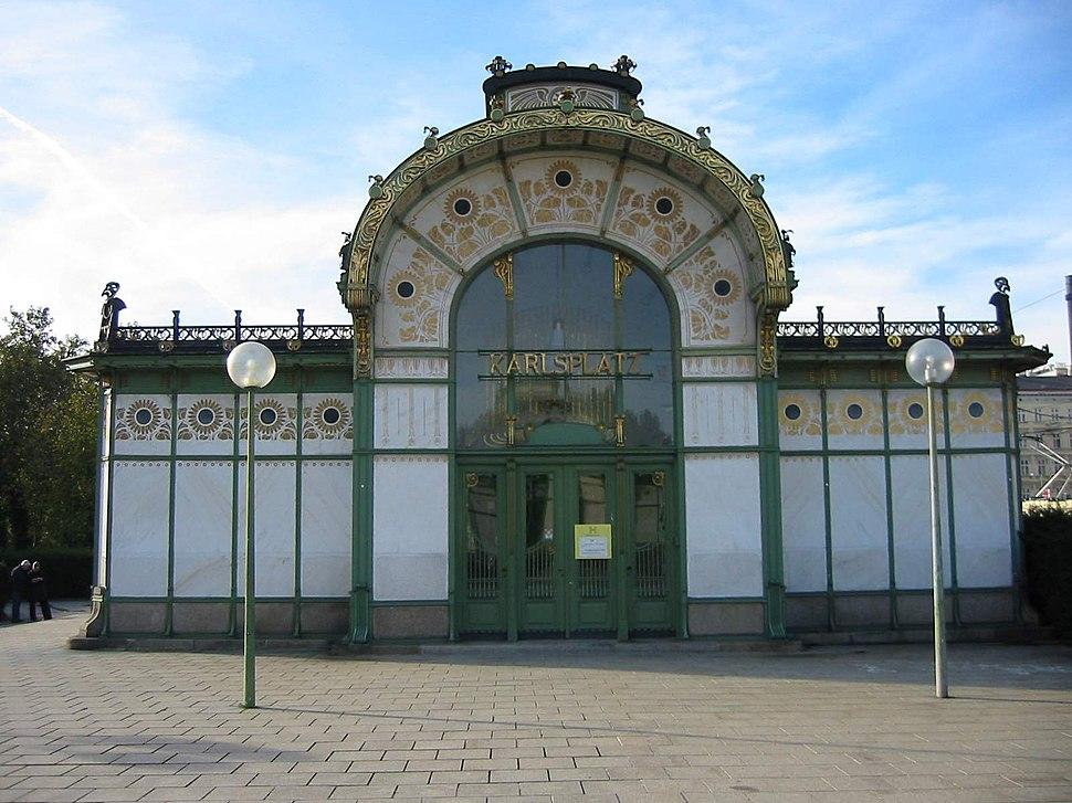 Wien Karlsplatz Stadtbahnstation