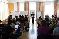 Wikimedia Hackathon Vienna 2017-05-19 Mentoring Program Introduction 007.jpg