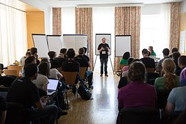 Wikimedia Hackathon Vienna 2017-05-19 Mentoring Program Introduction 007.jpg