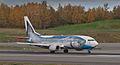Wild Alaska Salmon 737 starting its takeoff roll at ANC (6863668153).jpg