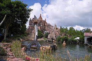 Amusement park - Wild West Falls at Warner Bros. Movie World, Queensland, Australia