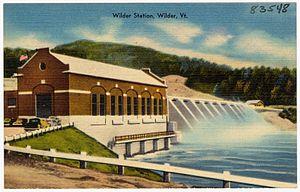 Wilder, Vermont - Image: Wilder Station, Wilder, Vt (83548)