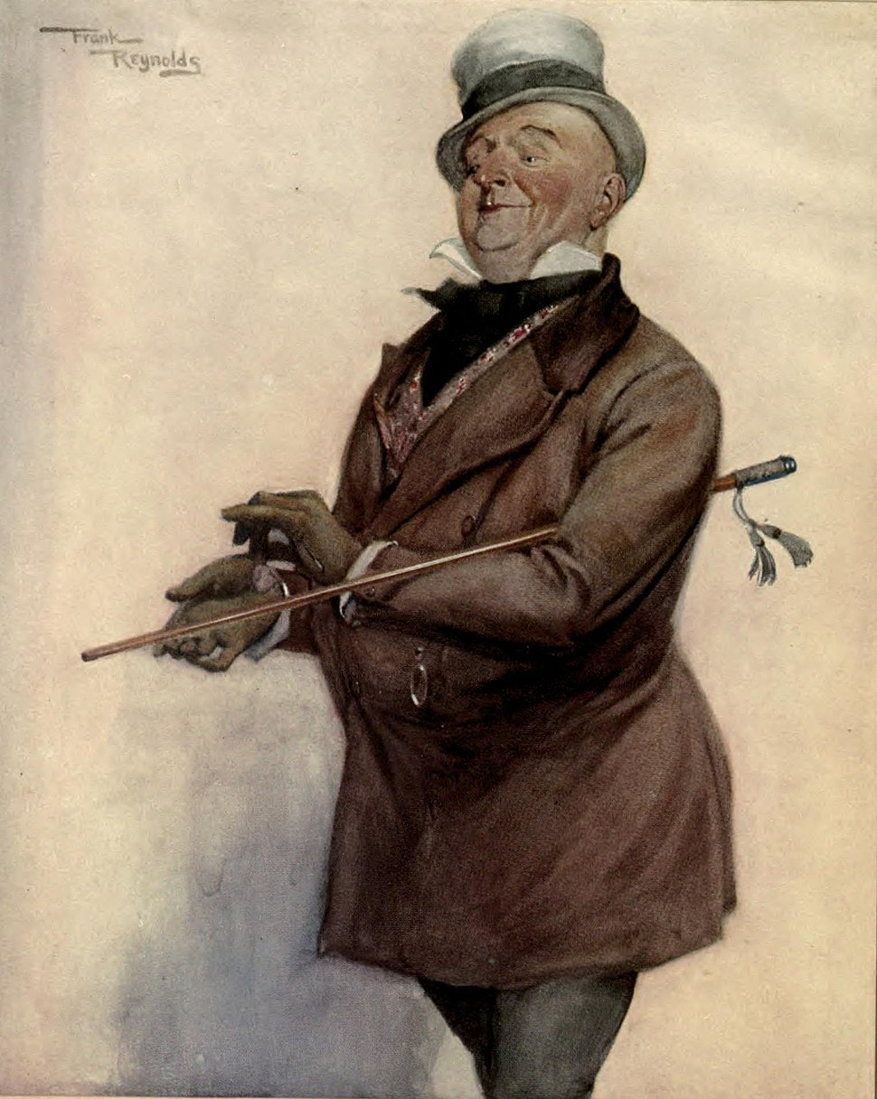 Wilkins Micawber from David Copperfield by Frank Reynolds