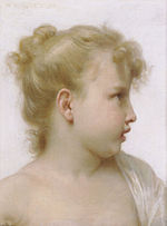 William-Adolphe Bouguereau (1825-1905) - Study - Head Of A Little Girl (1888).jpg